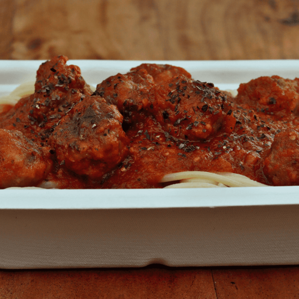 Spaghetti with Meatballs - Chefiesta, Meal Prep, Meal prep company, Meal prep near me, Catering company, private dining
