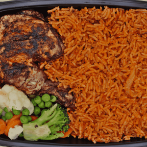 Jollof Rice and Herbed chicken Chefiesta, Meal Prep, Meal prep company, Meal prep near me, Catering company, private dining, Meal prep company UK