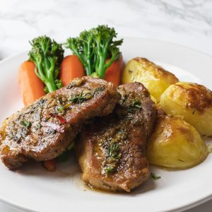 Pork Chops - Chefiesta, Meal Prep, Meal prep company, Meal prep near me, Catering company, private dining