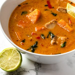 Red Thai Curry - Thai food Chefiesta, Meal Prep, Meal prep company, Meal prep near me, Catering company, private dining, Meal prep company UK