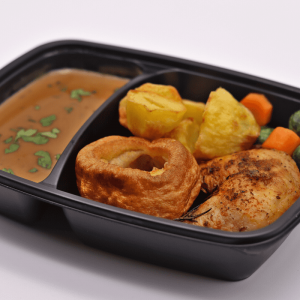 Sunday Roast, roast chicken, potatoes, gravy, Chefiesta, Meal Prep, Meal prep company, Meal prep near me, Catering company, private dining